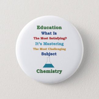 mastering satisfying Chemistry 3D 2 Inch Round Button