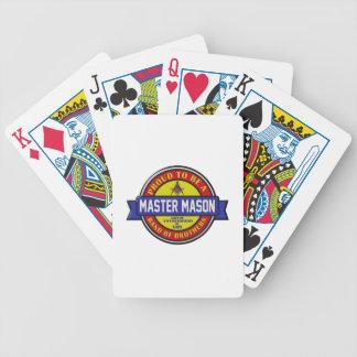 mastermason poker deck