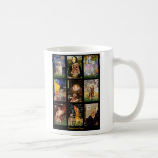 Masterpiece Golden Retrievers Coffee Mug