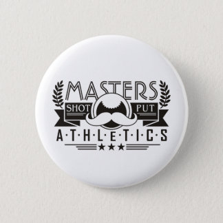 masters athletics shot put 2 inch round button