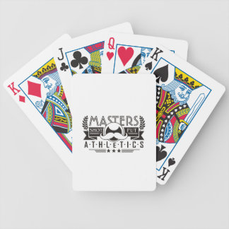 masters athletics shot put bicycle playing cards