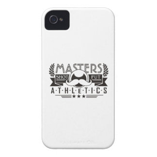 masters athletics shot put iPhone 4 Case-Mate cases