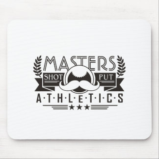 masters athletics shot put mouse pad