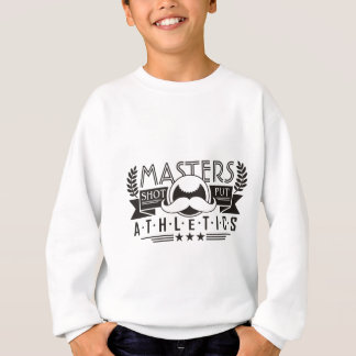 masters athletics shot put sweatshirt