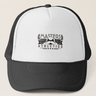 masters athletics shot put trucker hat