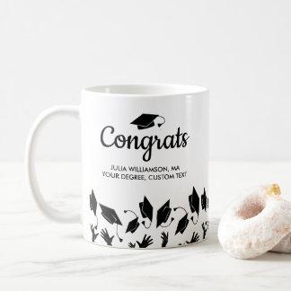 Masters Degree MA MS Graduation Gift Congrats Grad Coffee Mug