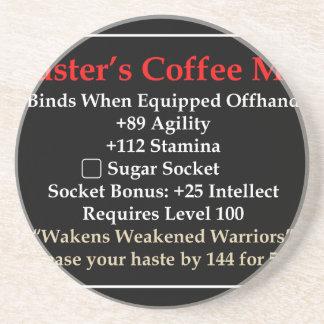 Master's Mug Beverage Coaster