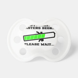 masters student pacifiers