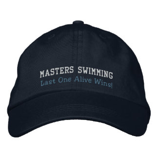 Masters Swimming, Last One Alive Wins! Hat