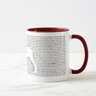 Mastiff AKC Breed Standard Mug