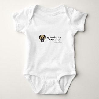 mastiff baby bodysuit