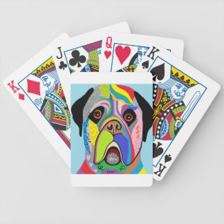 Mastiff Bicycle Playing Cards