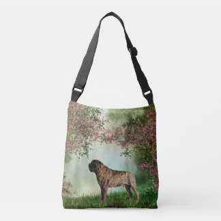 Mastiff Cherry Blossom Bag or Tote