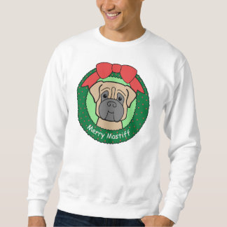 Mastiff Christmas Sweatshirt