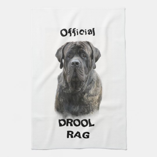 Mastiff Drool Rag Hand Towels