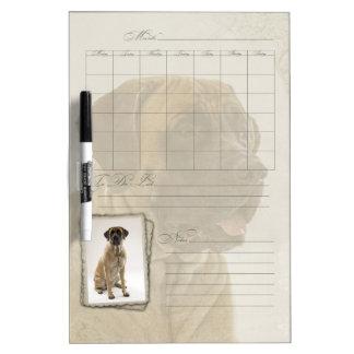 Mastiff Dry Erase Monthly Calendar Dry Erase Board
