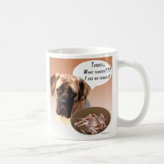 Mastiff (fawn) Turkey Coffee Mugs