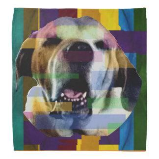 Mastiff in Color Bandana