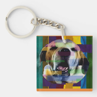 Mastiff in Color Key Chain