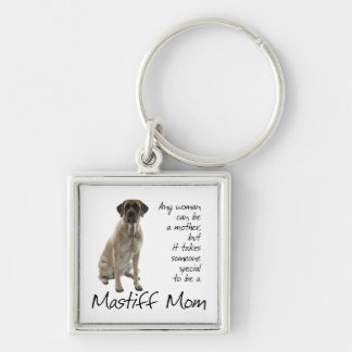 Mastiff Mom Key Ring