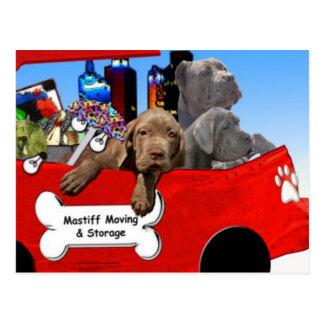 Mastiff Moving & Storage Postcard