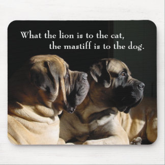 Mastiff Pair Mousepad