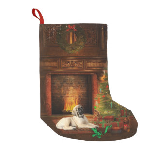 Mastiff Puppy Christmas Stocking