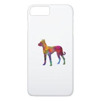 Mastiff Spanish 01 in watercolor 2 iPhone 8 Plus/7 Plus Case