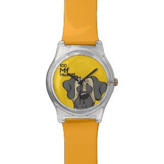 Mastiff - The Dog Table Watch