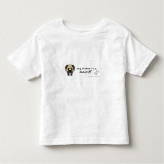 mastiff toddler t-shirt