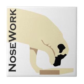 Mastiffs_Nose Work Ceramic Tiles