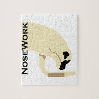 Mastiffs_Nose Work Jigsaw Puzzle