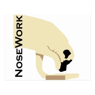 Mastiffs_Nose Work Postcard