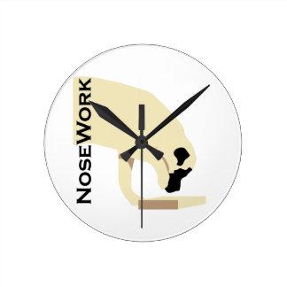 Mastiffs_Nose Work Wall Clock