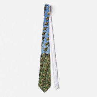 Mastodon Tiled Tie