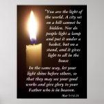 Mat 5:14-16 poster