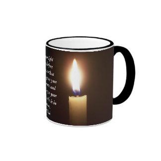 Mat 5:16 ringer coffee mug