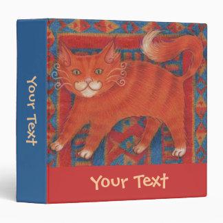 """Mat Cat """"Your Text"""" custom binder"""
