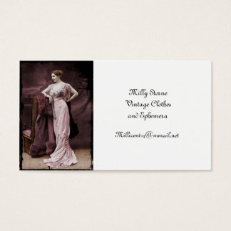 Mata Hari de l'Odeon Business Card