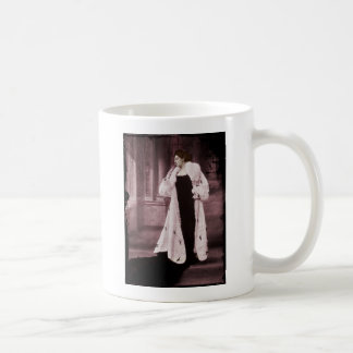 Mata Hari In White Fur Coat Coffee Mug