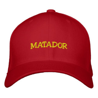 MATADOR EMBROIDERED HATS