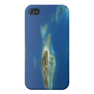 Matamanoa Island and coral reef, Mamanuca Island iPhone 4 Covers