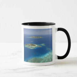 Matamanoa Island and coral reef, Mamanuca Island Mug