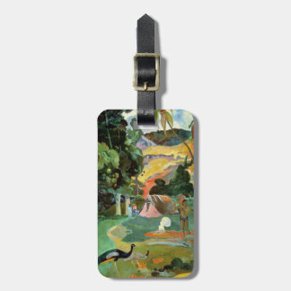 Matamoe or, Landscape with Peacocks, 1892 Luggage Tag