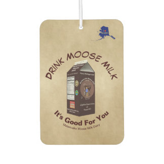 Matanuska Moose Milk Coupon Car Air Freshener