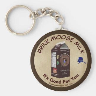 Matanuska Moose Milk Keychain