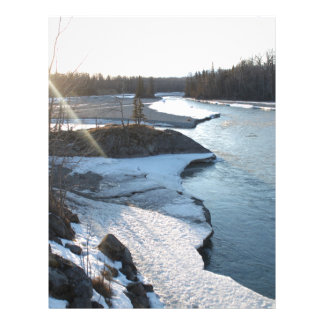Matanuska River Letterhead