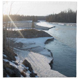 Matanuska River Napkin