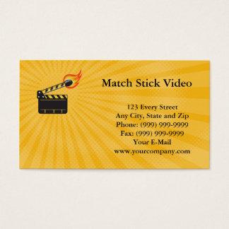Match Stick Video Business card