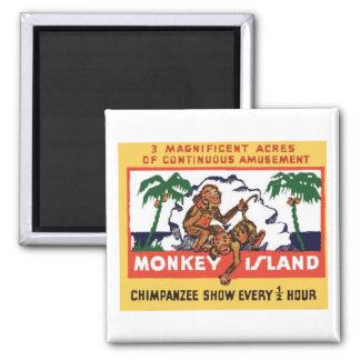 "Matchbook Magnets - ""Monkey Island"" #2 Magnet"